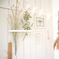 【連載】お部屋を華やかに♪ドライフラワーを飾ってインテリアを楽しもう!