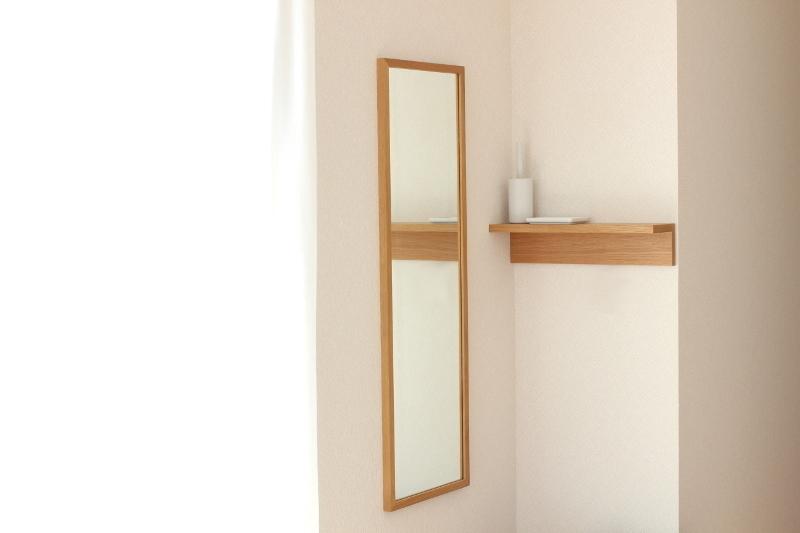 <第1位>壁に付けられる家具・ミラー・棚