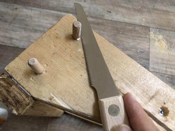 木材を組み立てていきます。7
