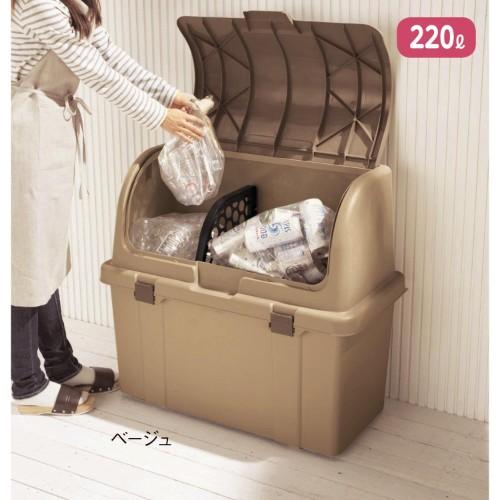 外だからこそ手を抜かない!フォトジェニックな大容量ゴミ箱6