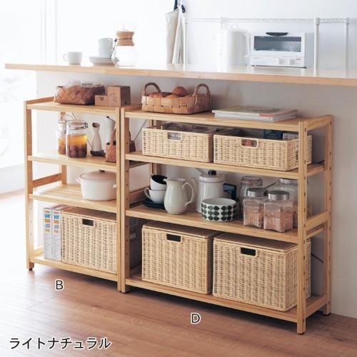 木製ラック収納10