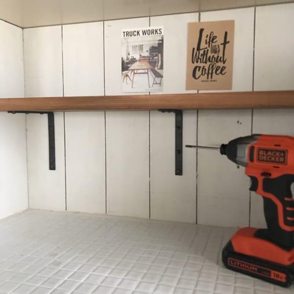 キッチン棚DIY12