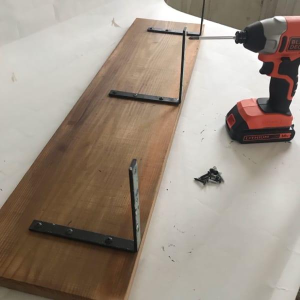 キッチン棚DIY10