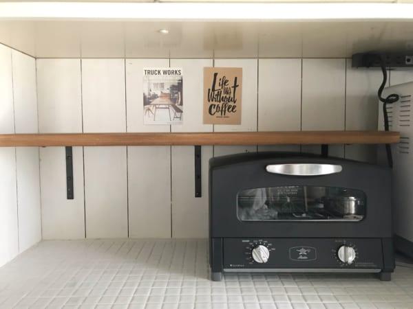 キッチン棚DIY13