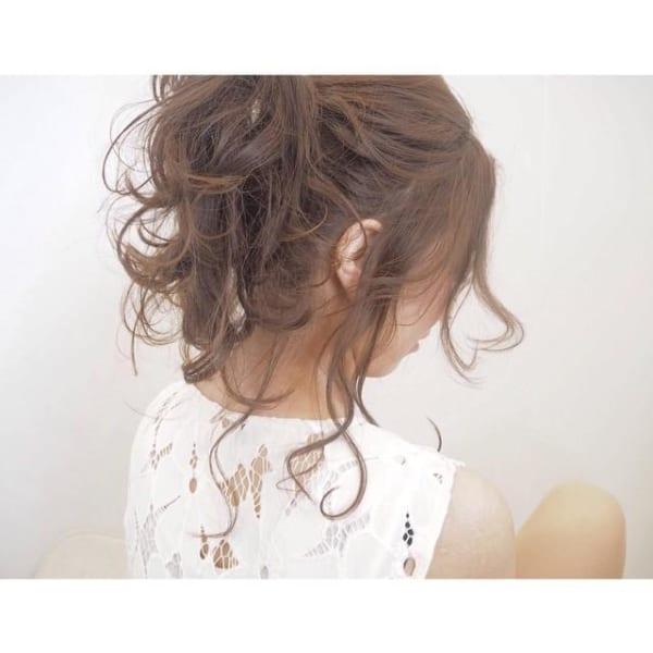 簡単まとめ髪10