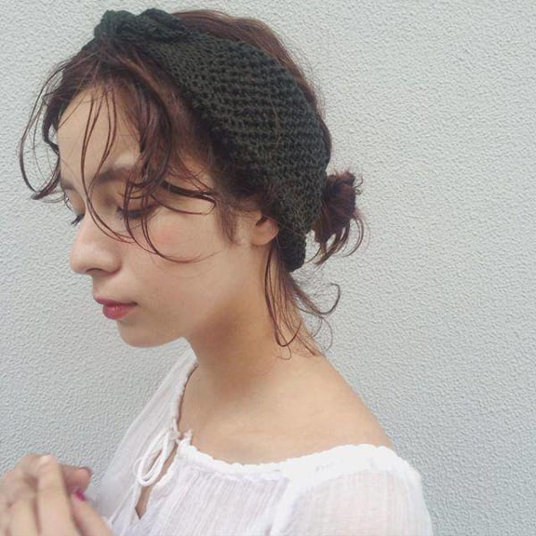 簡単まとめ髪12
