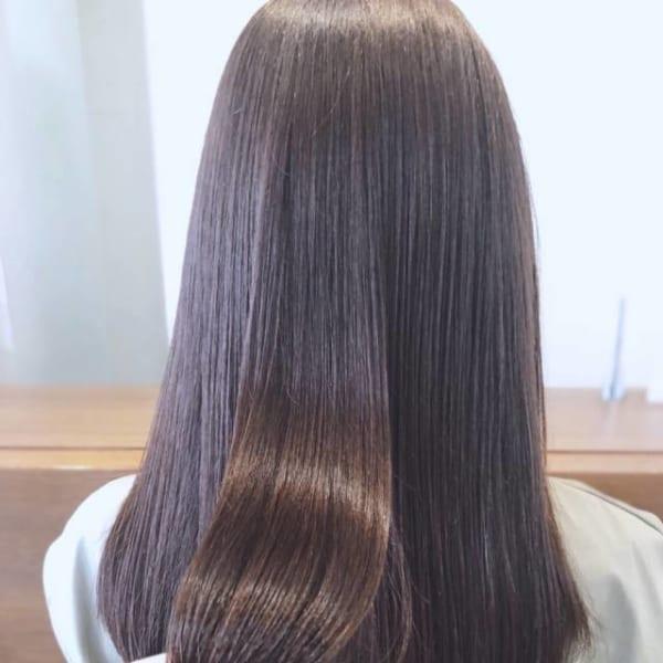 髪の美しさが際立つロング14