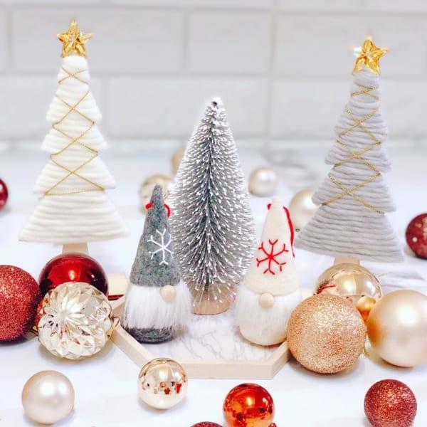 ミニマムなスペースでもクリスマスのディスプレイを楽しもう☆2