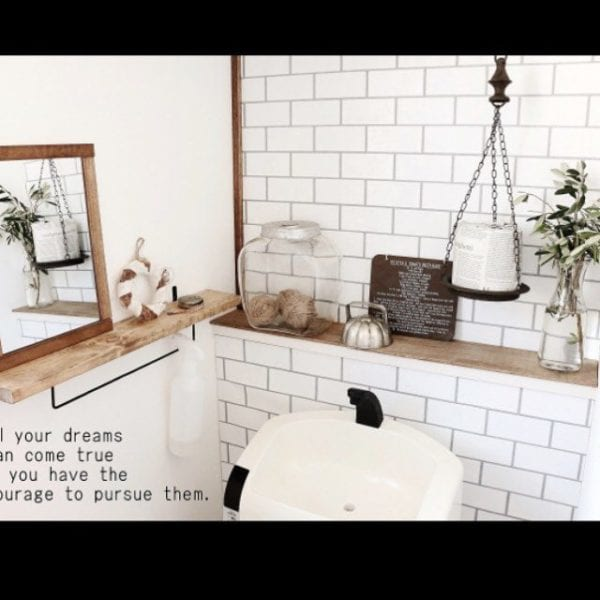 壁面に収納するアイデア3