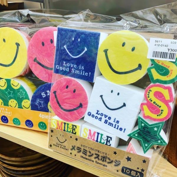 【シャンブル】カラフルポップなメラミンスポンジ