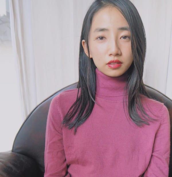 ちょっと軽めの可愛いヘアスタイル♡11