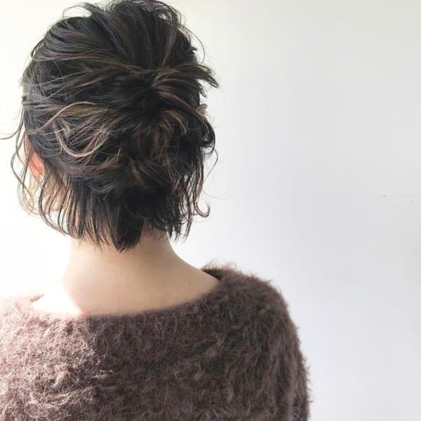 おしゃれなまとめ髪アレンジ特集24