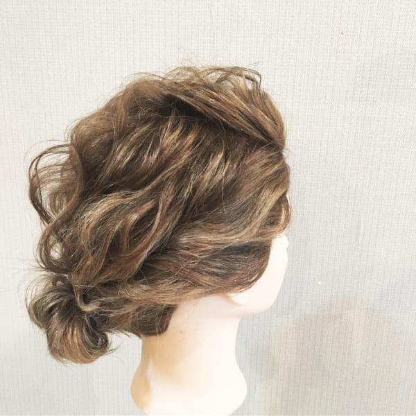 ボブ まとめ髪 デイリースタイル 12