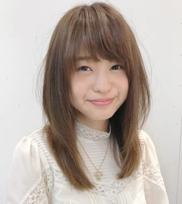 ちょっと軽めの可愛いヘアスタイル♡12