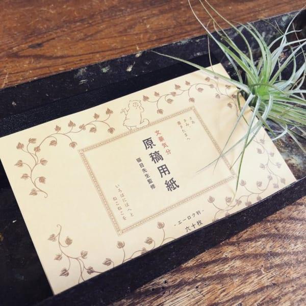 【セリア】原稿用紙メモ
