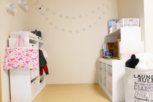 子ども部屋にぬいぐるみを収納9