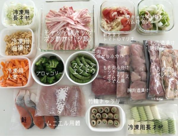 短時間調理や献立に役立つ!常備菜のつくり置き8