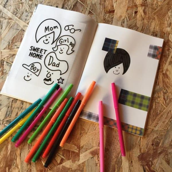 【ダイソー】30色入りカラーペン
