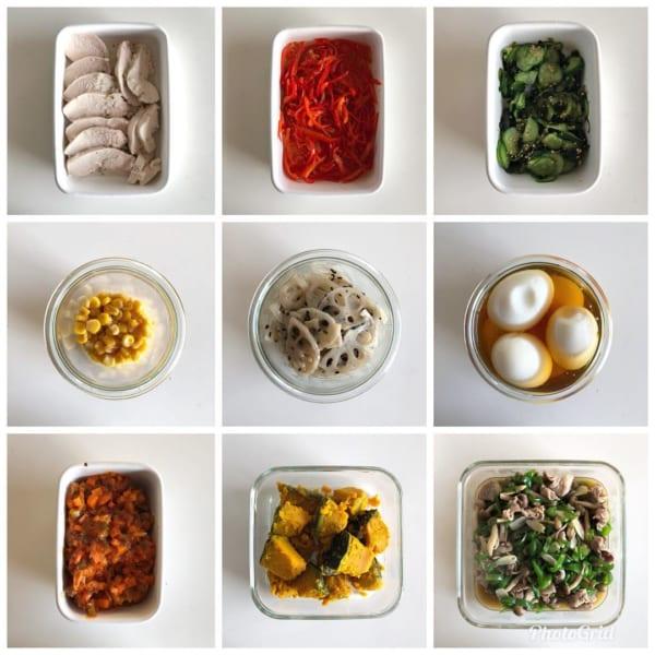 短時間調理や献立に役立つ!常備菜のつくり置き9