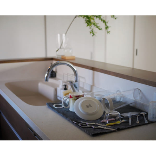 大判で使いやすい、ジョージ・ジェンセンのキッチンタオル