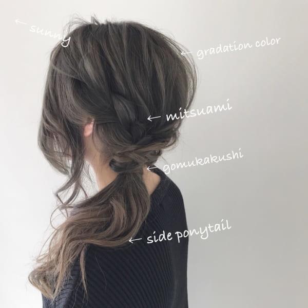 おしゃれなまとめ髪アレンジ特集39