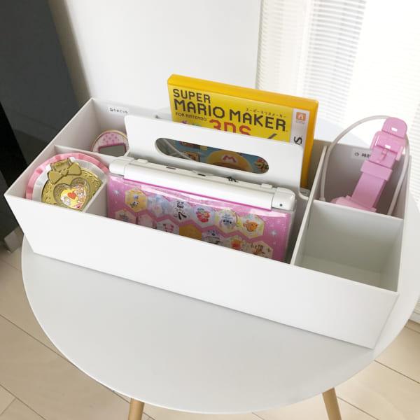 ポリプロピレン収納キャリーボックスを使って