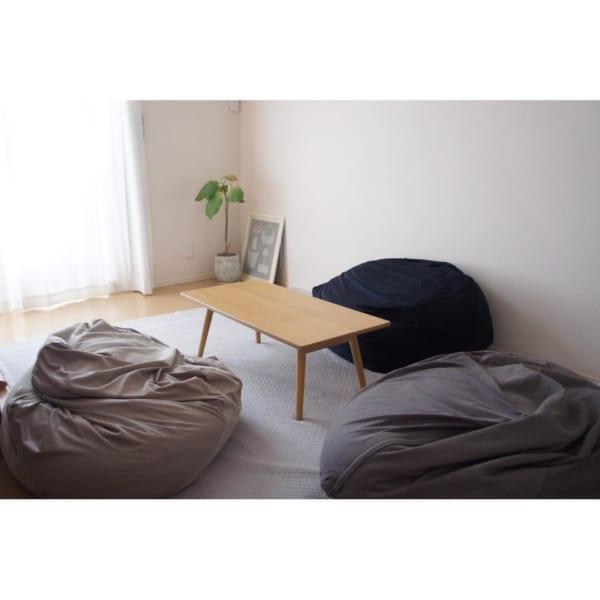 折りたたみテーブル ラポール(ナチュラル)