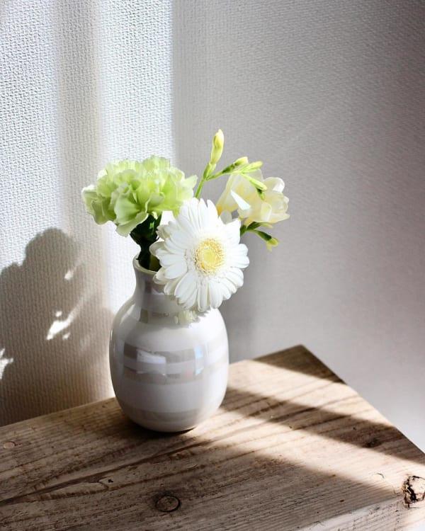 ベーシックに花瓶として飾る