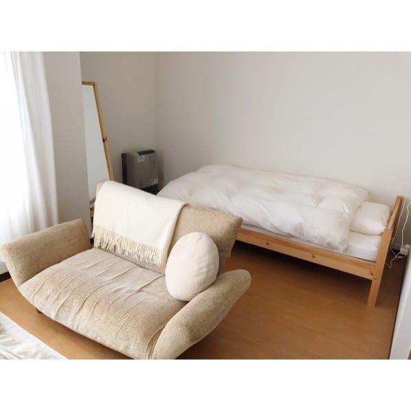部屋が広く美しく見えるレイアウトの方法☆5