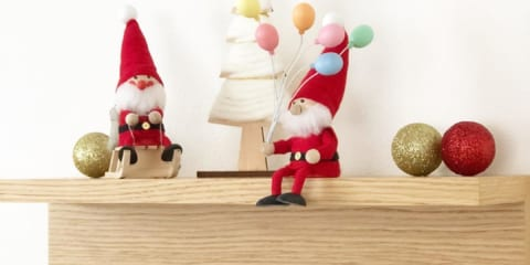 クリスマスの飾りも省スペースで♪壁面を使ったディスプレイのアイディア集