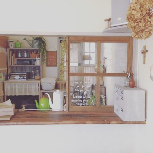 憧れのキッチンカウンターをDIY♪35