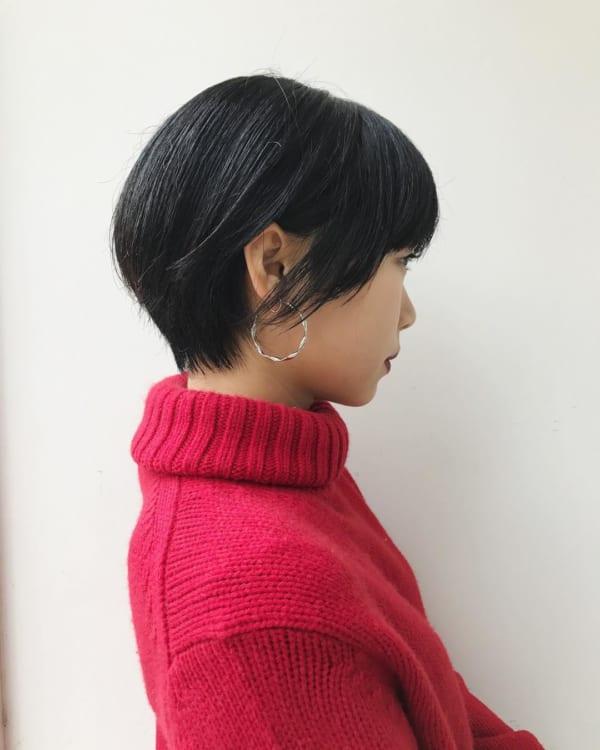 ショートヘア1