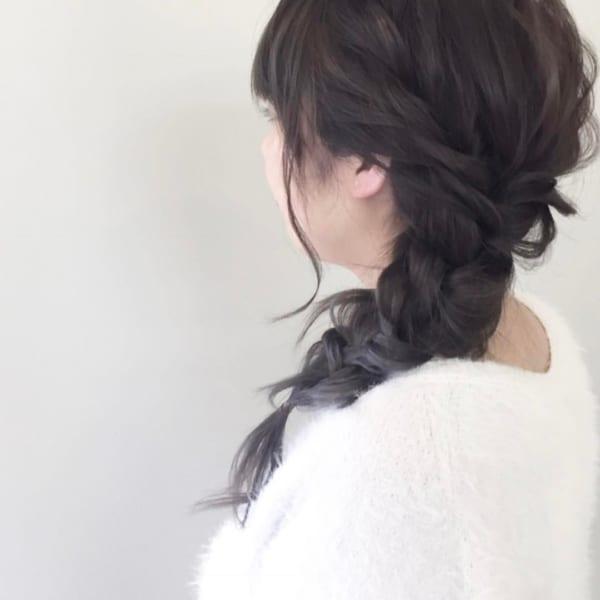 おしゃれなまとめ髪アレンジ特集40