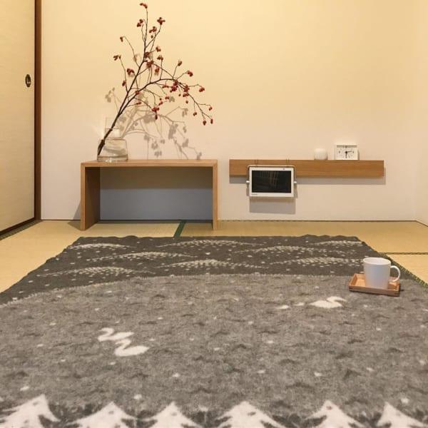部屋が広く美しく見えるレイアウトの方法☆9