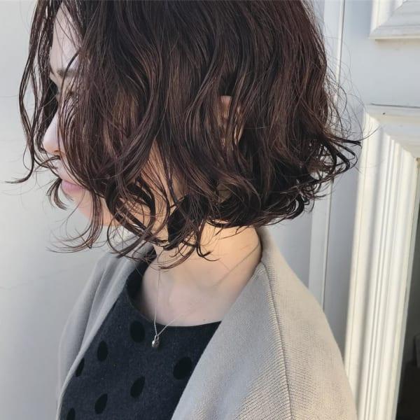 前髪なしボブ6