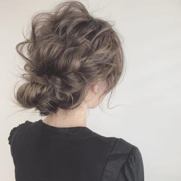ボブ まとめ髪 デイリースタイル 6