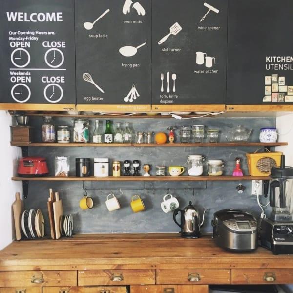 憧れのキッチンカウンターをDIY♪53