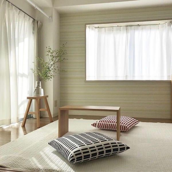 部屋が広く美しく見えるレイアウトの方法☆10