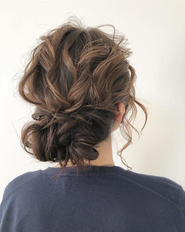 ボブ まとめ髪 デイリースタイル 7