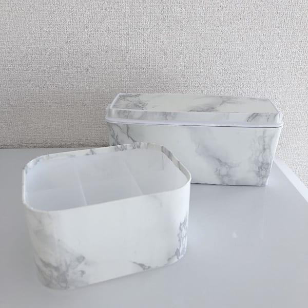 大理石風ボックス
