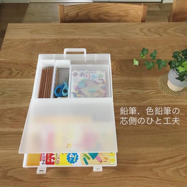 整理トレーを活用すればお絵描きセットの収納にぴったり!5