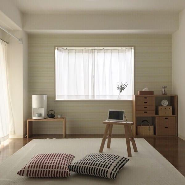 部屋が広く美しく見えるレイアウトの方法☆11