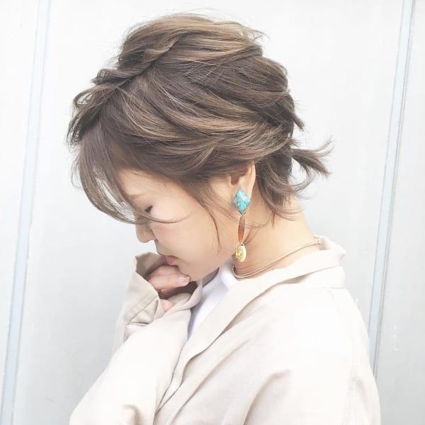おしゃれなまとめ髪アレンジ特集21