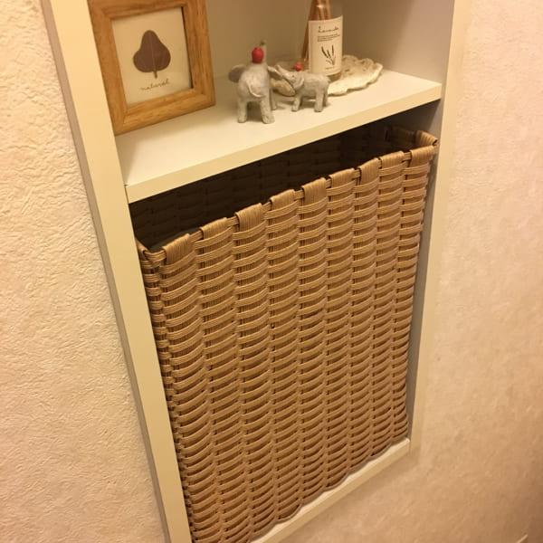 かごに収納するアイデア14