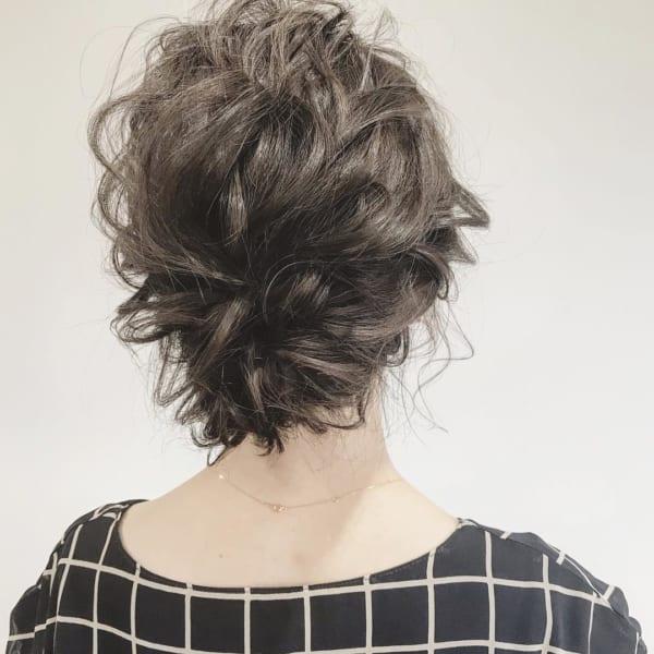 ボブ まとめ髪 デイリースタイル 9