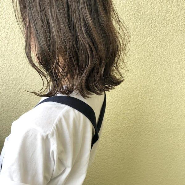 ミディアムヘアの大人可愛い巻き方♪19