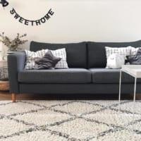 シンプルで素敵☆【IKEA】のソファでスタイリッシュなリビングを作ろう