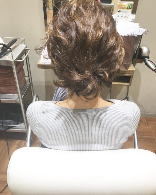 ボブ まとめ髪 デイリースタイル 10