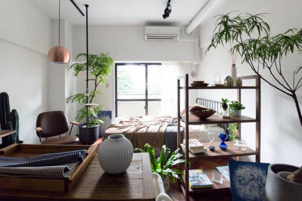 部屋が広く美しく見えるレイアウトの方法☆6