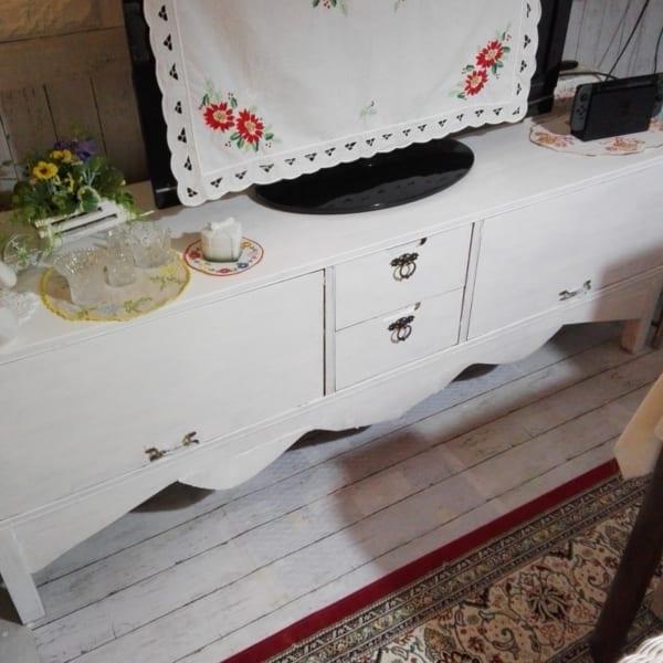 テレビボード DIY6